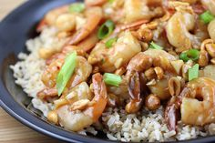 Kung pao shrimp( article includes 6 Asian stir-fry recipes; Teriyaki chicken, chicken stir-fry, broccoli and beef, Kung Pao Shrimp, chicken fried rice, and chicken chow mein. For any of these recipes you can use whatever type of meat you prefer; chicken, beef, pork, or shrimp. The best part about these recipes is that no deep frying is required)