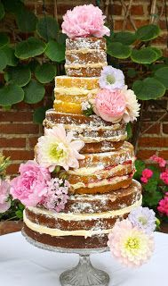 Nakedcake Wedding Cake Recipe
