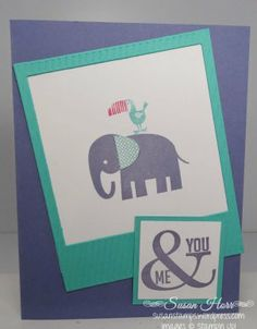 Zoo Babies, On Film, Perfect Pennants, SUO, Stampin Up, 2014 Occasions Catalog, susanstamps.wordpress.com