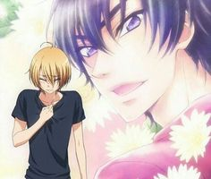 Love Stage!! Omg I just started this series and am still fangirling. No, seriously, like 30 minuets ago.