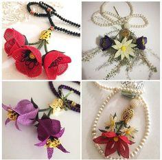 Crochet Necklace, Model, Jewelry, Jewlery, Jewerly, Scale Model, Schmuck, Jewels
