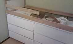 Better than sticking the kid in the actual dresser drawer - IKEA Hackers