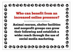 "Share what you do and increase awareness for your rescue by ""telling your story"". Educate the public on your work and the efforts and events of your organization.  #animalrescue #marketingtips #marketingforanimalshelters"