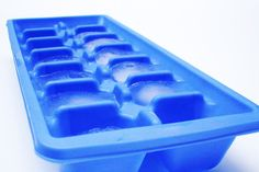 Use an ice cube a day to keep the fat, acne, and wrinkles away... I kind of want to try this... :)