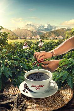 ¡Buenos días! :) #Publicidad de Juan Valdez Café.