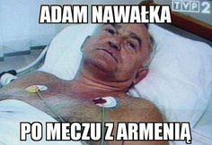 Tak wygląda trener reprezentacji Polski po meczu z Armenią • Adam Nawałka po meczu z Armenią • Memy po meczu Polska Armenia • Zobacz >> #polska #pilkanozna #futbol #sport #memy #pol #smieszne