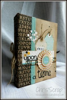 once by Chris'Scrap, via Flickr -- This blog shares some really cute cards and scrapbook pages.