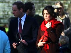 Will and Kate, Christmas of 2012