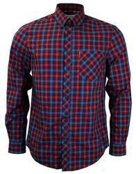 Brand: Ben Sherman Key Points: Ben Sherman L/S Tartan Shirt. Button down collar, chest pocket. Tartan Shirt, Plaid, Ben Sherman, Button Down Collar, Dawn, Culture, Pop, Retro, Shirts