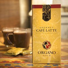 Organo Gold Gourmet Cafe Latte - 20 sachets (with Ganoderma Lucidum) Net WT Café Latte, Coffee Today, Instant Coffee, Cream And Sugar, Black Coffee, Coffee Bottle, Yummy Drinks, Hot Chocolate, Chocolate Lovers