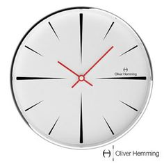 Oliver Hemming Needle Point Wall Clock