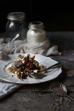 Saffron Quinoa over Roasted Veggies, and on the Ongoing Flow of Things - hortuscuisine.com