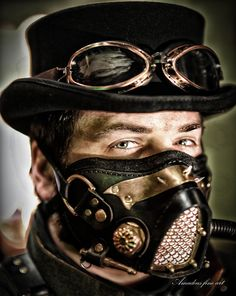Steampunk 2 Cosplay Steampunk, Steampunk Mask, Gothic Steampunk, Steampunk Clothing, Steampunk Fashion, Diesel Punk, Festival Costumes, Festival Outfits, Apocalypse Costume