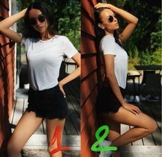 Photos that prove everyone can get hot for a photo in just a second … – girl photoshoot poses Best Photo Poses, Poses For Pictures, Picture Poses, Model Poses Photography, Poses Pour Photoshoot, Pose Portrait, Foto Casual, Instagram Pose, Posing Guide