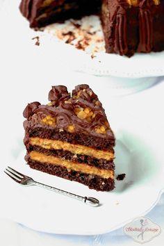 Tort czekoladowo-pomarańczowy