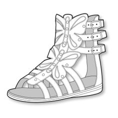 S/S 15 Design Direction: Girls' Footwear Key Items - Gladiator Sandal