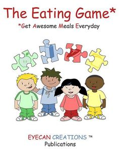 I invented The Eating Game for a 6 year old friend, named Ethan, who is autistic. At the time he preferred to always eat hot dogs and rice; oh and he liked pizza too! So I set out to create something to help him to continue to be in control of his food choices but to expand them to have a more varied, healthier diet. I knew it would have to be very visual and offer structure and routine to make mealtime very predictable.
