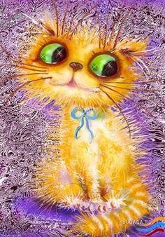 кошка в венке - Поиск в Google