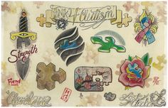 Autism flash from Lost Anchor Tattoo Parlour