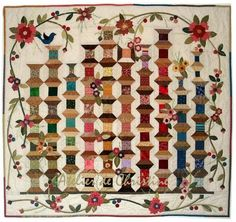 I would love this in miniature to hang on the wall in my sewing room!