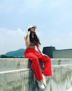 ♡ ྀ hyuna Hyuna Fashion, Kpop Fashion, Kpop Outfits, Dance Outfits, Korean Girl, Asian Girl, Moda Kpop, Afro, Hyuna Kim