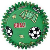 Soccer Baking Cups 50ct