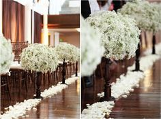 Aisle decor? by Erika Luiza