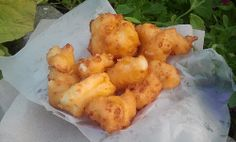 Fried Cheese Curds from The Big Cheese at The Big E!