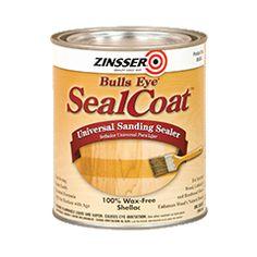 Rust-Oleum 00851 Zinsser SealCoat Universal Sanding Wood Sealer for Interior Floors & Furniture Ltrs) Sanding Wood, Wood Sealer, 6 Pack, Oak Cabinets, Kitchen Cabinets, Ben And Jerrys Ice Cream, Home Repairs, Shellac, Interior Design Tips