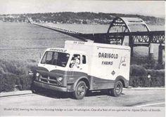 1955 Diamond T Truck Photo Dairigold Lake Washington wj884-M5KM61