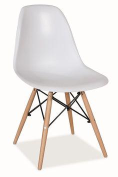Jídelní židle MODENA bílá Eames, Dining Room, Chair, Furniture, Home Decor, Decoration Home, Room Decor, Home Furnishings, Stool