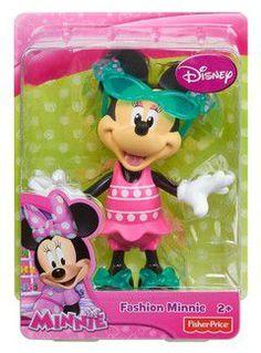 Fisher Price Disney Minnie - fashion Minnie (with glasses) - Minnie's figures