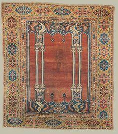 Ottoman prayer rug