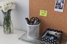 Inspire-se com a decoração do home office da Gabi Barbosa, do blog Teoria Criativa.