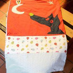 #couture couverture loup pour bébé by elicec88