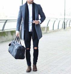 make statement with your gym bag for workday // gym bag // mens fashion // urban men // menswear // gym gear // city boys //