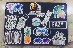 laptop stickers from red bubble ((: officially obsessed                                                                                                                                                       More