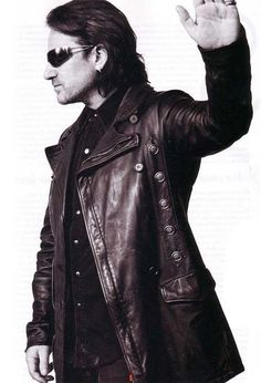 U2 ~ Bono. frick-what a fabulous jacket!!! balmain jacobC??? youtubemuiscsucks.com