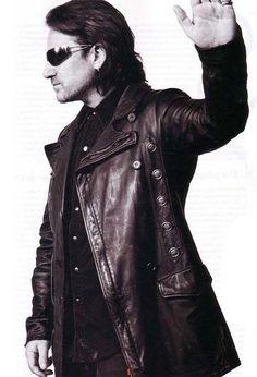 U2 ~ Bono.  frick-what a fabulous jacket!!! balmain jacobC???