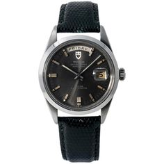 Tudor Date-Day Reference #: 7017/0. Mens Automatic Self Wind Watch Stainless Steel Grey 37 MM. Verified and Certified by WatchFacts. 1 year warranty offered by WatchFacts. Stylish Watches, Luxury Watches For Men, Cool Watches, Cheap Watches, Army Watches, Casio G Shock, Beautiful Watches, Watch Brands, Digital Watch
