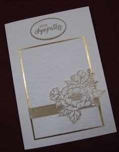 Lesley's Stampin Ground : Sympathy card