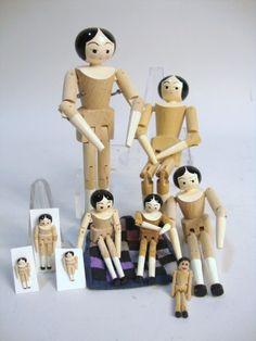 Eric Horne Peg Wooden Dolls