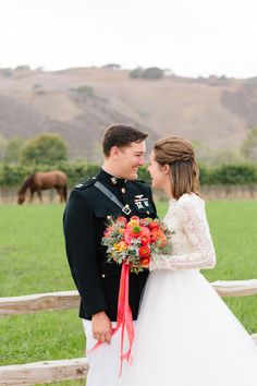 Texas ranch wedding | love the sleeved dress