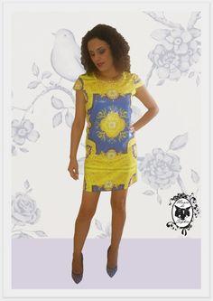 Só pra gente babar um pouco mais com o Vestido de Paetê com Estampa de Arabescos! Luxo e Perfeição!