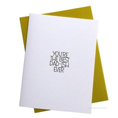 Greeting Cards (Best Dad-ish)   QUIRKS