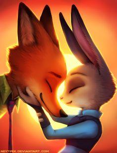 Nick and Judy by Neytirix