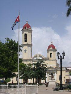 Cienfuegos: Vista plaza principal  Cuba
