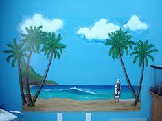 murals of beach scenes - Google Search