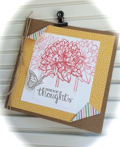 Best Thoughts - Stampin' Up! (new catalog 2015-2016)