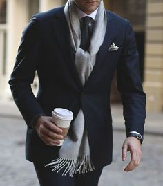 Pinspiration | The Most Popular Pins From Black.co.uk's Pinterest Board Scarf.ace #menswear #style #MenOfStyle